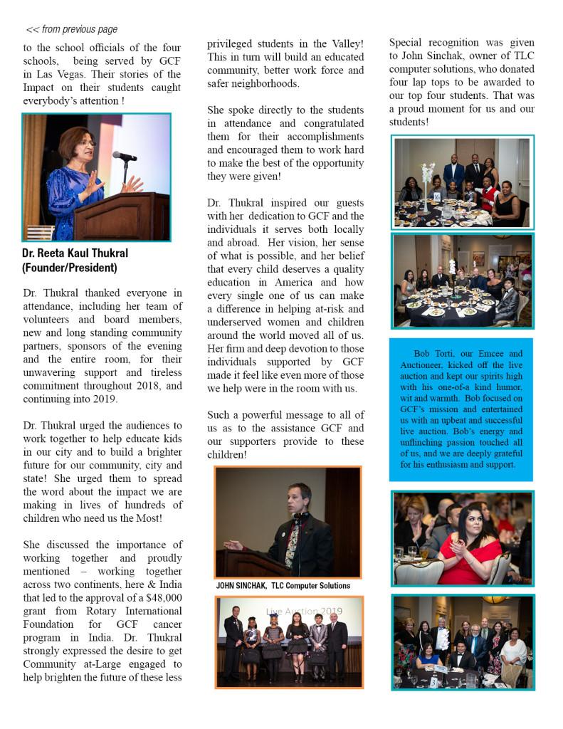 Spring 2019 Newsletter REVISED2